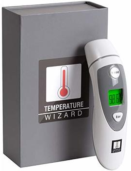 Temperature Wizard Forehead & Ear Thermometer For All Ages by Wizard Research Laboratories