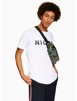 Nicce White Split Logo T Shirt by Topman