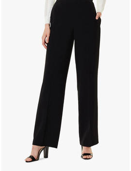Karen Millen Wide Leg Trousers, Black by Karen Millen