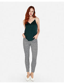 Petite Button Front Downtown Cami by Express