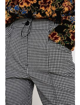 Uo Cece Plaid Mom Trousers by Urban Outfitters