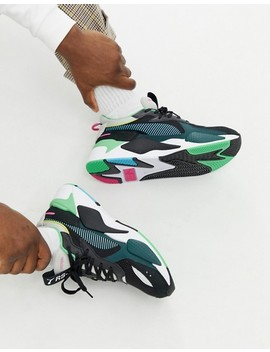 Puma Rs X Toys Sneakers In Black by Puma
