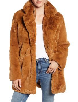 Sophie Faux Fur Coat by Apparis
