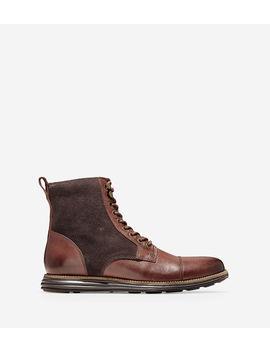 Men's Øriginal Grand Cap Toe Boot by Cole Haan
