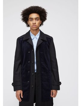 Overcoat by Comme Des Garcons Shirt