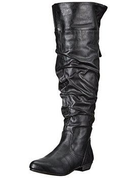 Fergalicious Women's Rookie Wide Calf Slouch Boot by Fergalicious
