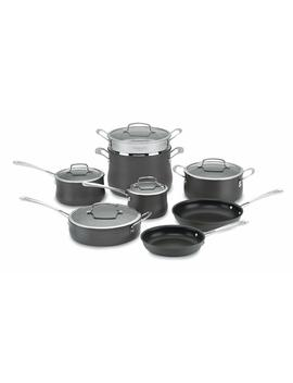 Cuisinart 64 13 Contour Hard Anodized 13 Piece Cookware Set by Cuisinart