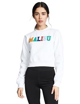 Long Sleeve Crop Sweatshirt by Kendall + Kylie