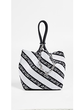 Knit Jacquard Roxy Soft Tote by Alexander Wang