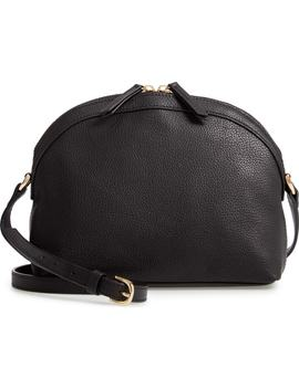 Half Moon Leather Crossbody Bag by Nordstrom