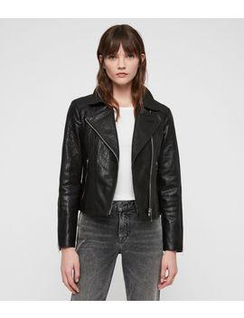 Pataya Leather Biker Jacket by Allsaints