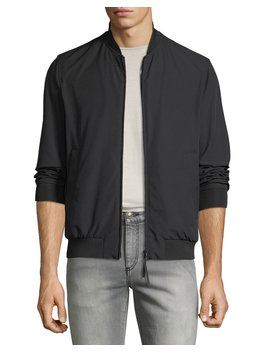 Men's Techno Stretch Bomber Jacket by Emporio Armani