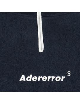 Oversized Fleece Seatshirt Navy by Ader Error