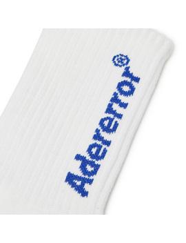 Logo Socks White by Ader Error