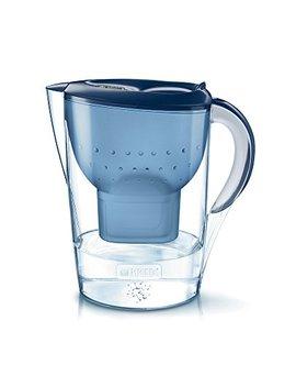Brita Marella Xl Jarra De Agua Filtrada Con 1 Cartucho Maxtra+, Filtro De Agua Brita Que Reduce La Cal Y El Cloro, Agua Filtrada Para Un Sabor Excelente, Color Azul by Brita