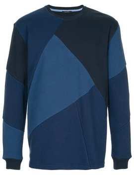 Geometric Panelled Sweatshirt by Guild Prime