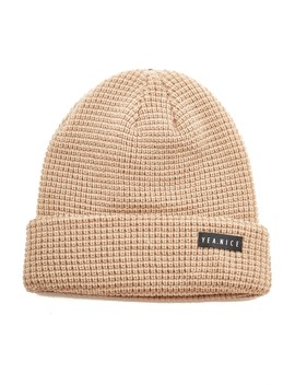 Yea. Nice The Folded Beanie Sand by Universal Store