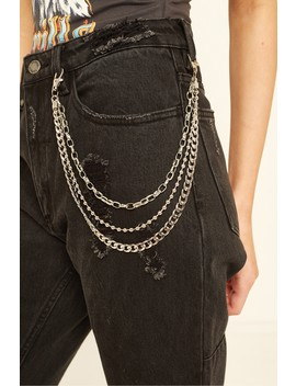 Token Triple Wallet Chain Silver by Universal Store
