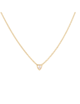 Trillion Cut Necklace   $60 by Mejuri