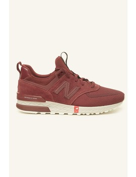 New Balance 574 Burgundy by Universal Store