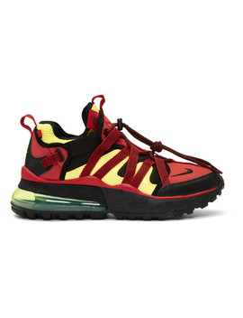 Red & Black Air Max 270 Bowfin Sneakers by Nike
