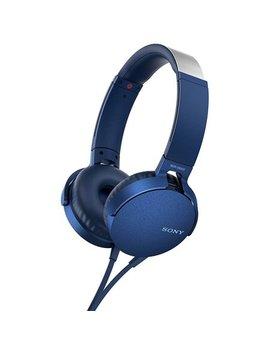 Sony Xb550 Ap Extra Bass On Ear Headphones (Blue) by Sony