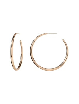Everyday Hoop Earring With 10 K Gold, Rose Gold Or Sterling Silver Plating by Banana Repbulic