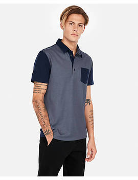 """<A Href=""""/Clothing/Men/Double Faced Performance Polo Shirt/Pro/05047672/Cat1830014"""">Double Faced Performance Polo Shirt</A> by Express"""