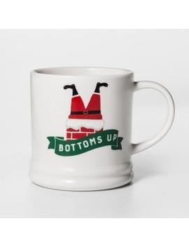 16oz Porcelain Bottoms Up Mug   Threshold™ by Threshold