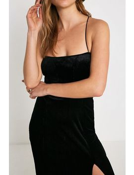 Free People All I Need Velvet Maxi Slip Dress by Free People