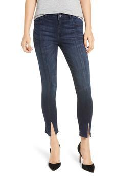 Florence Instasculpt Split Hem Crop Skinny Jeans by Dl1961