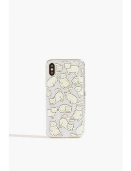 **Chill Cat Case   I Phone X/Xs By Skinnydip by Topshop