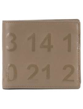 Printed Digits Wallets by Maison Margiela