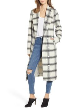 Hollis Plaid Coat by Show Me Your Mumu