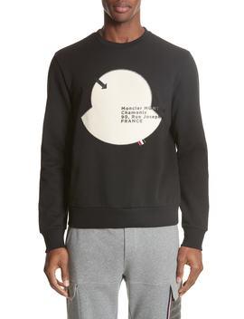 Maglia Big Bell Crewneck Sweatshirt by Moncler
