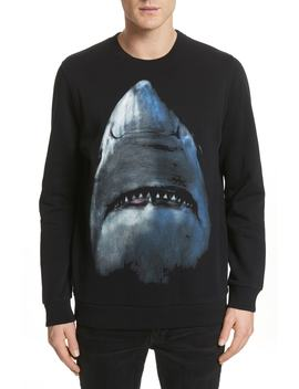 Shark Print Crewneck Sweatshirt by Givenchy