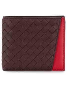 Interlaced Bi Fold Wallet by Bottega Veneta