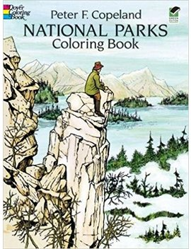 National Parks Coloring Book (Dover Nature Coloring Book) by Peter F. Copeland