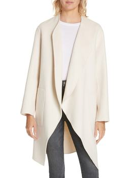 Double Face Wool & Cashmere Coat by Nordstrom Signature