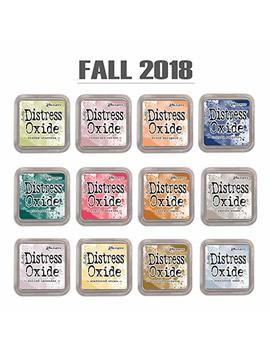 Ranger Tim Holtz Distress Oxide Ink Pad Set Of 12 (Fall 2018) by Tim Holtz
