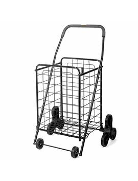 Folding Shopping Carts – Supenice (Sn7505) Deluxe Stair Climbing Utility Cart With Tri Wheels, Extended Handle, 66 Lbs Capacity, Utility Cart Great For Shopping, Camping, Sports Equipment by Supenice