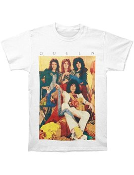 Queen Old School Band T Shirt by Queen