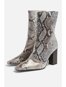 Henna High Ankle Boots by Topshop