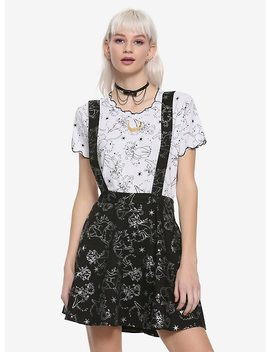 Sailor Moon Glitter Luna Suspender Skirt Hot Topic Exclusive by Hot Topic