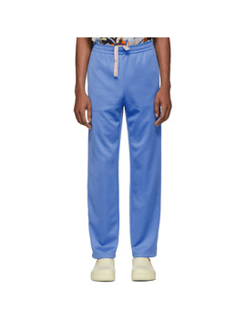 Blue Drawstring Lounge Pants by Acne Studios