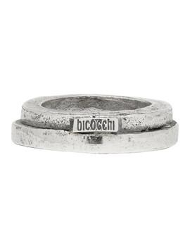 Silver Mta1 Ring by Emanuele Bicocchi