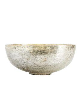 Rough Cast Mercury Candle Pot, Cardamom & Vanilla   Extra Large by Pottery Barn