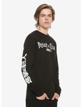 Attack On Titan Eren Jaeger Long Sleeve T Shirt by Hot Topic