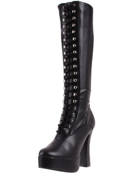 Pleaser Women's Electra 2023 Knee High Boot by Pleaser