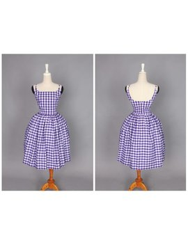 "Penelope Dress ""Valiant Violet"" Eggplant Purple Gingham by Etsy"